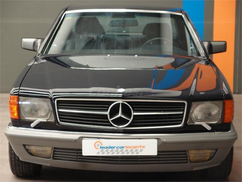 Mercedes benz 500sec w126 en valencia 30376970 for Mercedes benz of valencia
