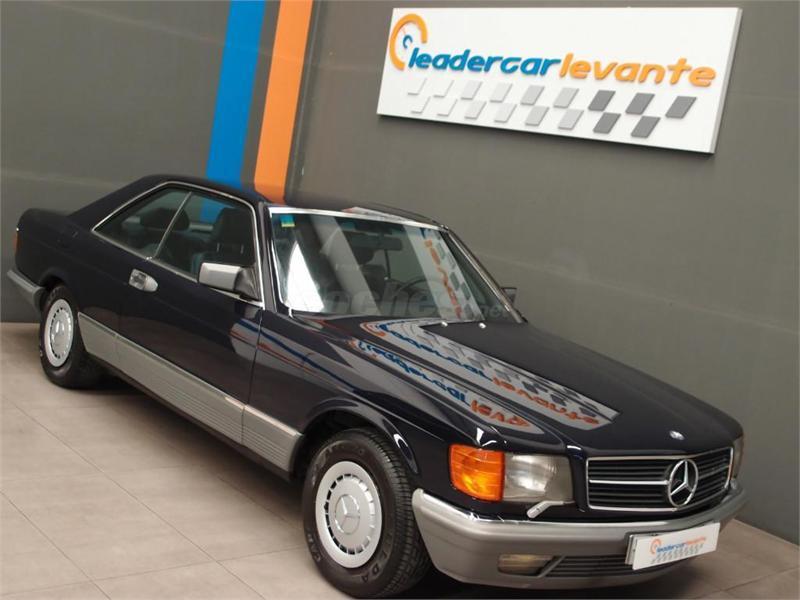 Mercedes benz 500sec w126 en valencia 30376970 for Mercedes benz valencia