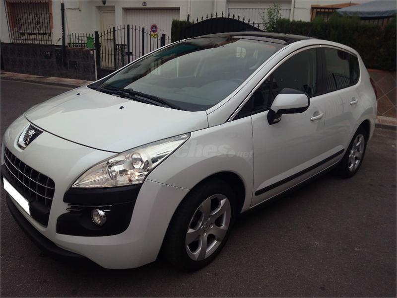 peugeot 3008 premium 1 6 hdi 110 fap cmp diesel blanco perla del 2010 con 133500km en granada. Black Bedroom Furniture Sets. Home Design Ideas