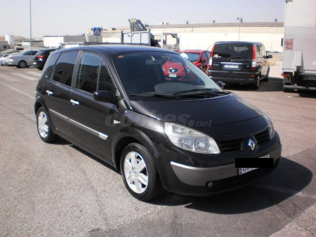 renault scenic luxe privilege 1 5 dci105 diesel negro del 2005 con 248000km en madrid. Black Bedroom Furniture Sets. Home Design Ideas