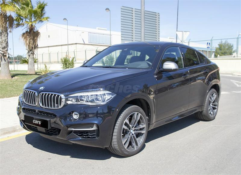 bmw x6 4x4 m50d diesel de color negro del a o 2015 con. Black Bedroom Furniture Sets. Home Design Ideas