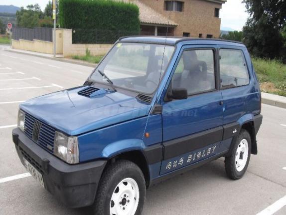 Fiat panda panda 1000 sisley 4x4 gasolina del 1990 con for Panda 4x4 sisley scheda tecnica