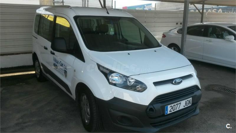 ford transit connect kombi 1 5 tdci 75cv ambiente 220 l1 m1 diesel blanco del 2015 con 5643km en. Black Bedroom Furniture Sets. Home Design Ideas