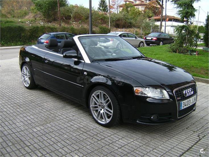 Audi a4 3 0 tdi quattro tiptronic cabrio diesel negro del for Milanuncios muebles almeria