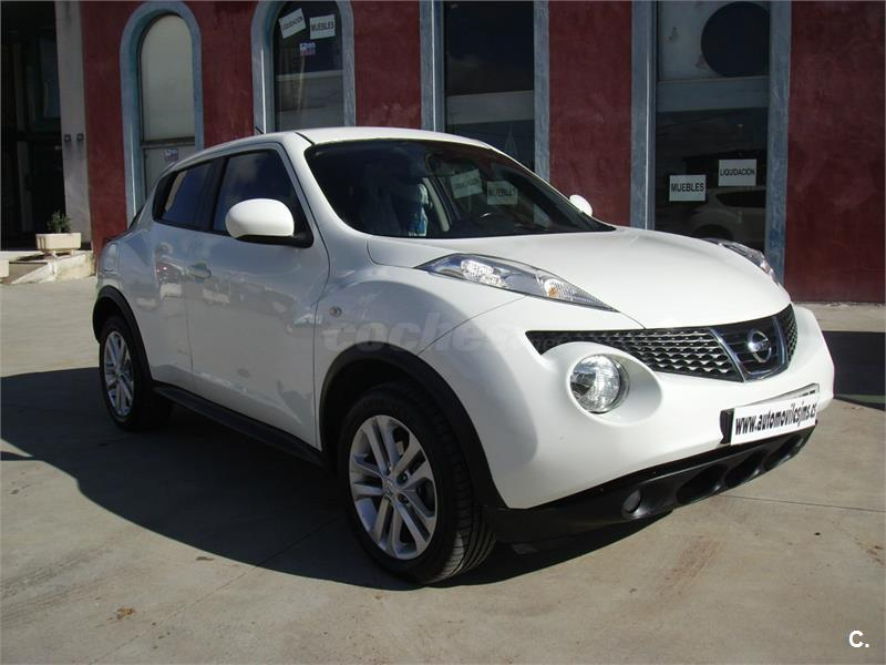 nissan juke 4x4 1 5 dci tekna sport 4x2 diesel de color blanco del a o 2011 con 165000km en. Black Bedroom Furniture Sets. Home Design Ideas
