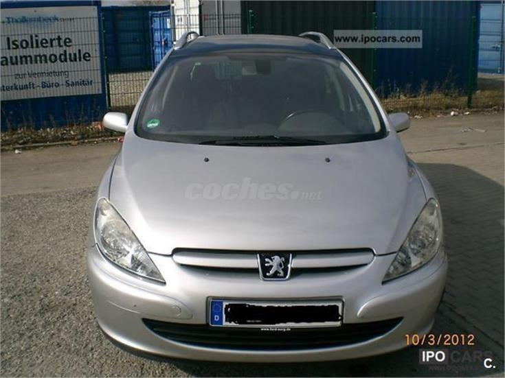 peugeot 307 sw 2 0 hdi 110 diesel gris plata gris del 2003 con 221000km en barcelona 31041831. Black Bedroom Furniture Sets. Home Design Ideas