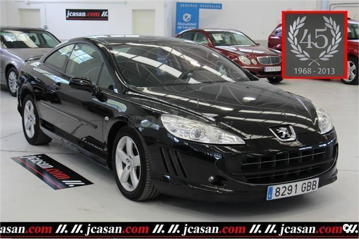peugeot 407 coupe 2 0 hdi 136cv fap diesel negro del 2008 con 90000km en alicante. Black Bedroom Furniture Sets. Home Design Ideas