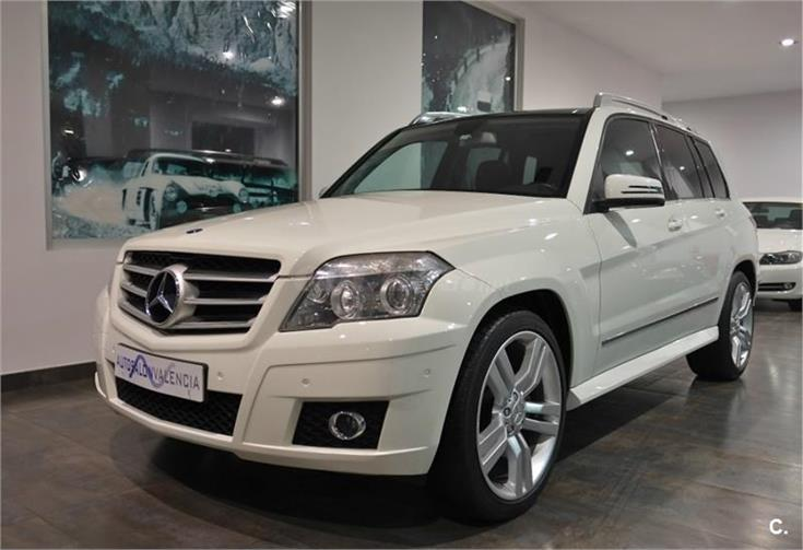 mercedes benz clase glk 4x4 glk 320 cdi 4m diesel de color blanco del a o 2009 con 130000km en. Black Bedroom Furniture Sets. Home Design Ideas