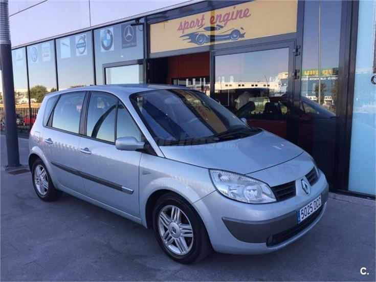 renault scenic luxe privilege 1 9dci diesel gris plata del 2005 con 200000km en madrid. Black Bedroom Furniture Sets. Home Design Ideas