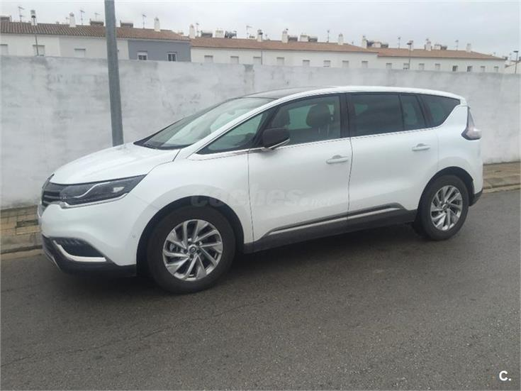 renault espace zen energy dci 130 diesel blanco del 2015 con 7000km en sevilla. Black Bedroom Furniture Sets. Home Design Ideas