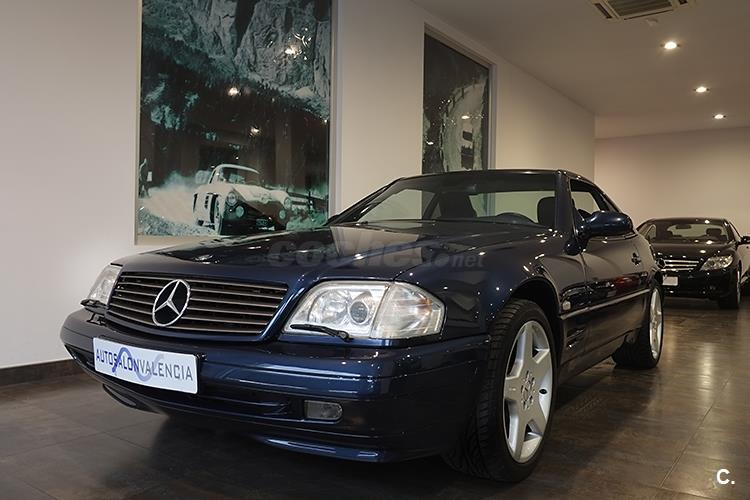 Mercedes benz clase sl r129 sl 320 gasolina azul del 1998 for Mercedes benz valencia