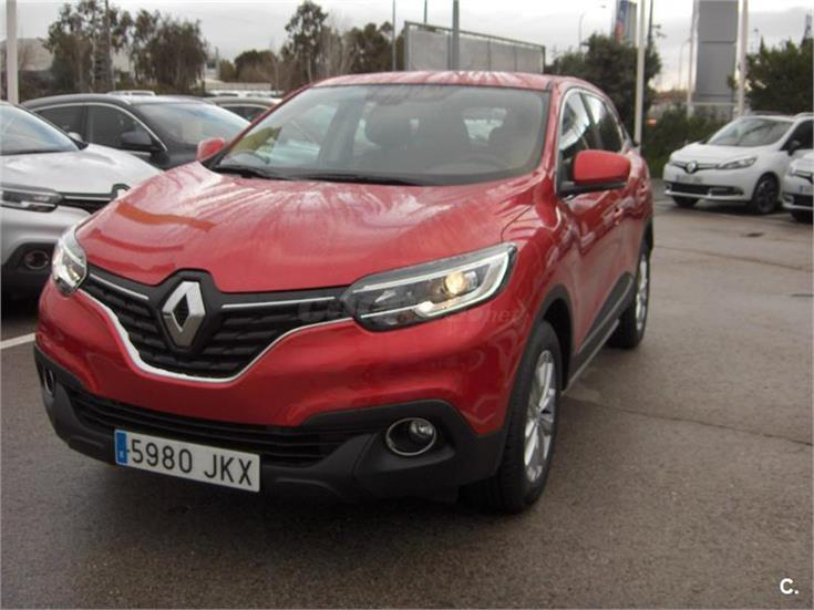 renault kadjar intens energy tce 130 gasolina rojo del 2016 con 80km en madrid 31212243. Black Bedroom Furniture Sets. Home Design Ideas