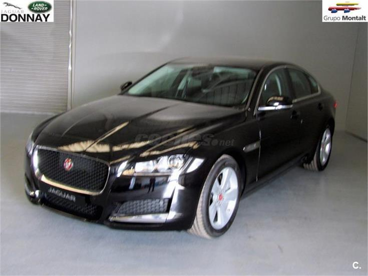 jaguar xf 180ps pure auto diesel negro ebony del 2015 con 1km en valencia 31223658. Black Bedroom Furniture Sets. Home Design Ideas