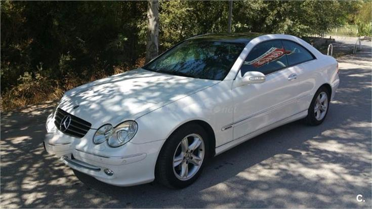 mercedes benz clase clk clk 270 cdi avantgarde diesel blanco marfil del 2005 con 84636km en. Black Bedroom Furniture Sets. Home Design Ideas