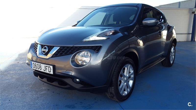 nissan juke 4x4 1 5 dci acenta 4x2 diesel de color gris. Black Bedroom Furniture Sets. Home Design Ideas