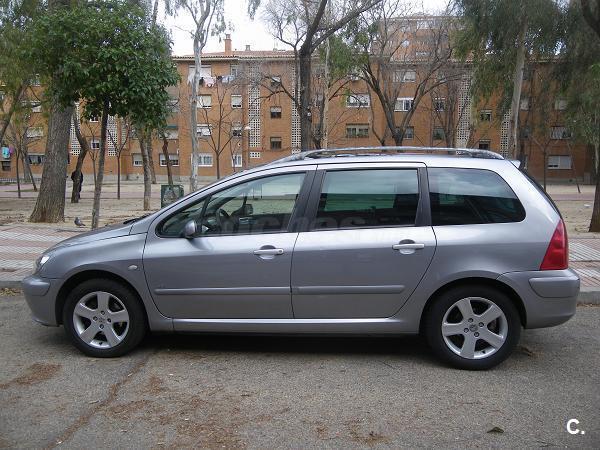 peugeot 307 sw pack 2 0 hdi 110 diesel gris plata del 2003 con 150000km en madrid 31408354. Black Bedroom Furniture Sets. Home Design Ideas