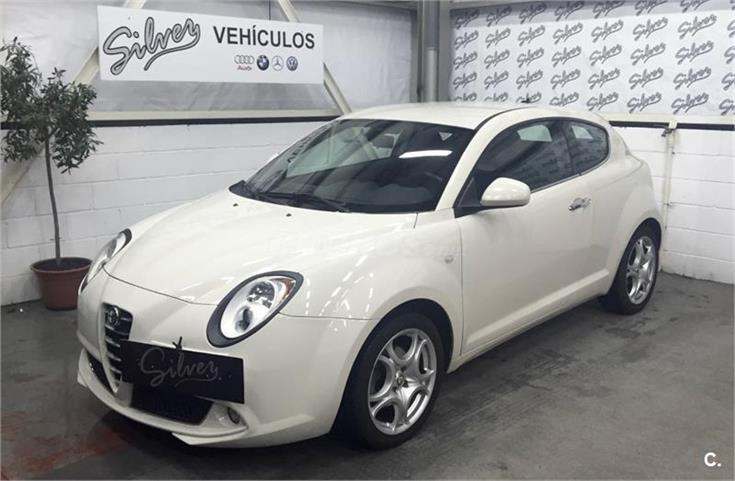 alfa romeo mito 1 6 jtdm 120cv distinctive diesel blanco. Black Bedroom Furniture Sets. Home Design Ideas