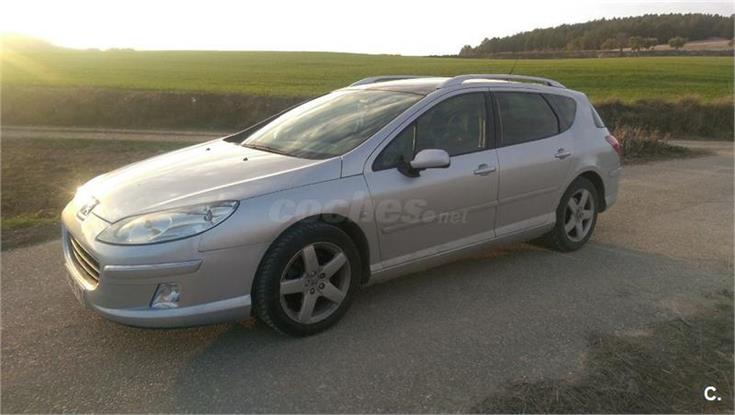 peugeot 407 sw sport 2 0 hdi 136cv fap diesel gris plata del 2008 con 130000km en guadalajara. Black Bedroom Furniture Sets. Home Design Ideas