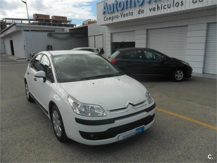 citroen c4 1 6 hdi 92 collection diesel blanco del 2008 con 127584km en valencia 31430292. Black Bedroom Furniture Sets. Home Design Ideas
