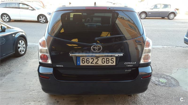 toyota corolla verso 2 2 d4d 136 cv luna diesel negro del 2008 con 117000km en valencia 31435140. Black Bedroom Furniture Sets. Home Design Ideas