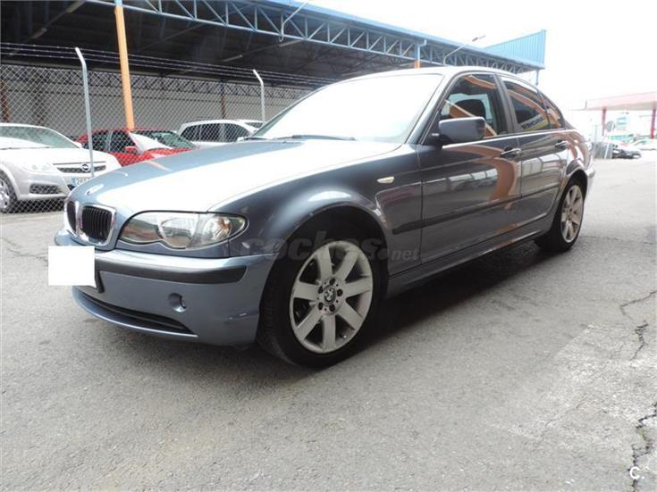 bmw serie 3 318d diesel azul del 2004 con 220000km en badajoz 31451923. Black Bedroom Furniture Sets. Home Design Ideas
