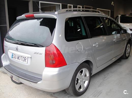 peugeot 307 sw 2 0 hdi 110 diesel gris plata del 2003 con 87000km en valencia 31454138. Black Bedroom Furniture Sets. Home Design Ideas
