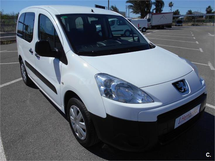 peugeot partner tepee access 1 6 hdi 75cv diesel blanco del 2012 con 130000km en murcia 31563870. Black Bedroom Furniture Sets. Home Design Ideas