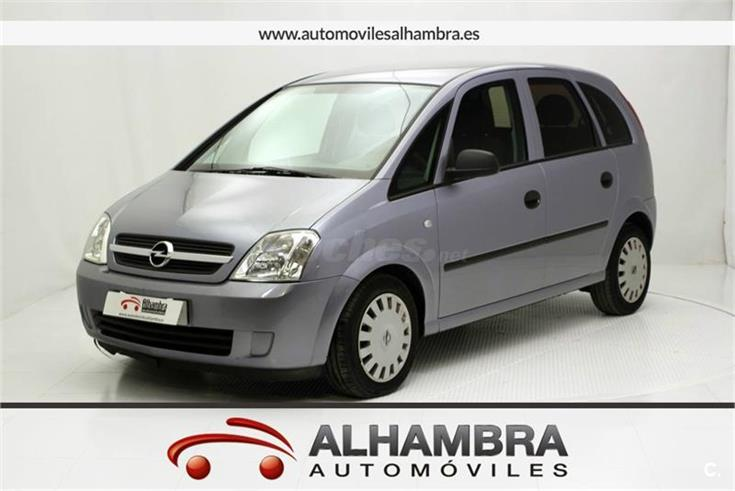 opel meriva essentia 1 7 cdti diesel gris plata gris del 2005 con 186104km en madrid 31575828. Black Bedroom Furniture Sets. Home Design Ideas