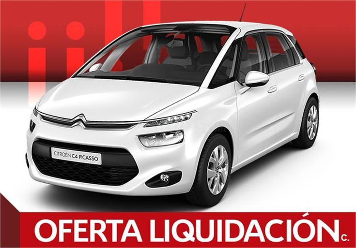 citroen c4 picasso monovolumen bluehdi 120cv feel edition diesel de km0 de color blanco blanco. Black Bedroom Furniture Sets. Home Design Ideas