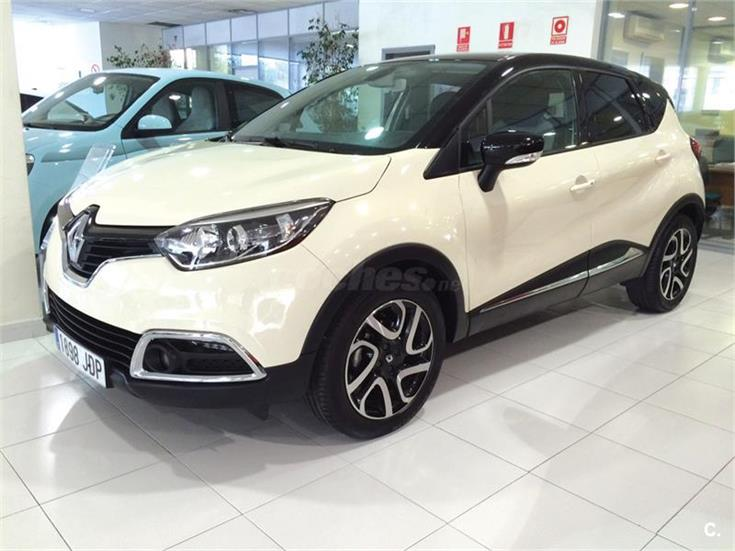 renault captur zen energy dci 90 ss eco2 diesel blanco marfil negro del 2015 con 20310km en. Black Bedroom Furniture Sets. Home Design Ideas