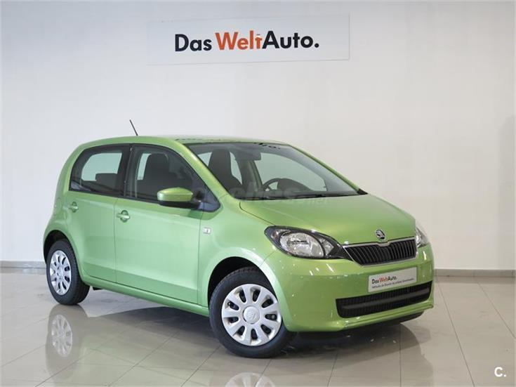 skoda citigo berlina 1 0 mpi 60cv ambition gasolina de km0 de color verde spring en tarragona. Black Bedroom Furniture Sets. Home Design Ideas
