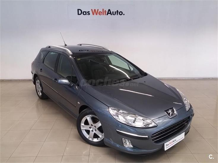 peugeot 407 sw st sport 2 0 hdi 136 diesel gris plata del 2007 con 173000km en navarra 31611593. Black Bedroom Furniture Sets. Home Design Ideas