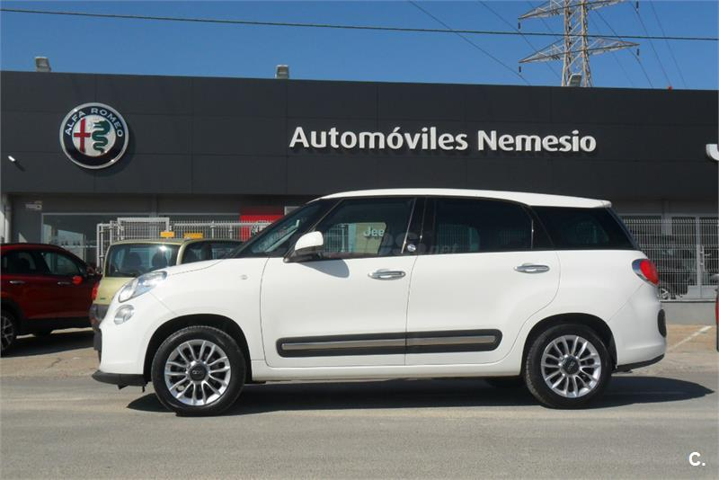 fiat 500l living lounge 1 3 16v mtijet ii 85cv ss diesel blanco del 2014 con 41200km en valencia. Black Bedroom Furniture Sets. Home Design Ideas
