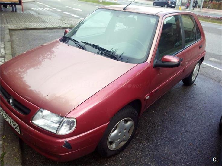 citroen saxo 1 5d seduction diesel rojo del 1999 con 230000km en madrid 31619747. Black Bedroom Furniture Sets. Home Design Ideas