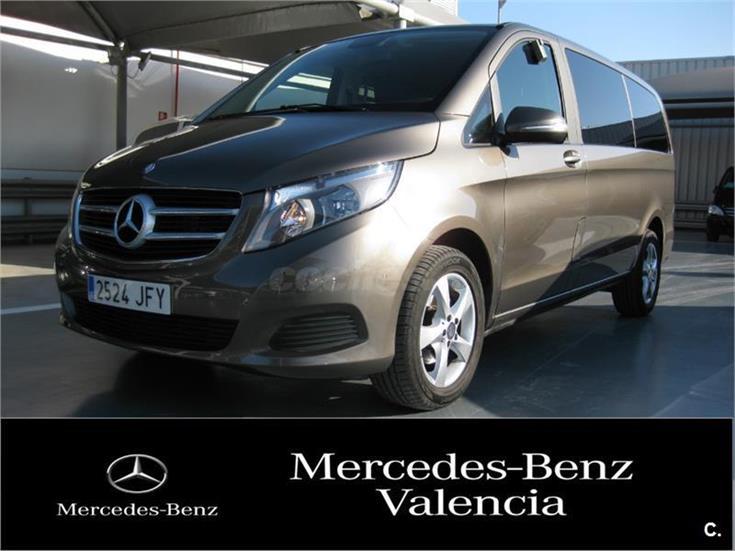 Mercedes benz clase v 220 cdi clase v largo diesel gris for Mercedes benz valencia