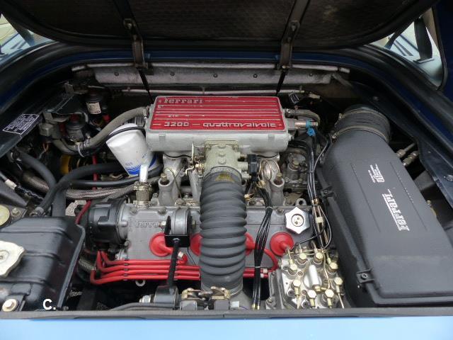ferrari mondial mondial 3 2 gasolina azul del 1986 con 85000km en alicante 31. Black Bedroom Furniture Sets. Home Design Ideas
