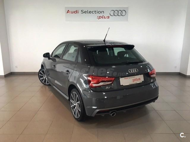 audi a1 sportback 1 4 tdi 90cv ultra adrenalin diesel gris plata gris nano del 2016 con. Black Bedroom Furniture Sets. Home Design Ideas
