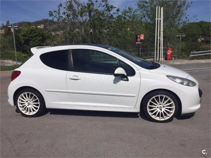 peugeot 207 gt 1 6 thp 150 gasolina blanco del 2008 con 120000km en barcelona 31712267. Black Bedroom Furniture Sets. Home Design Ideas