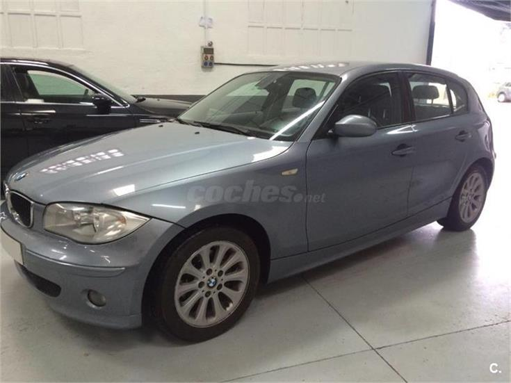 bmw serie 1 118d diesel gris plata gris azulado del 2006 con 249477km en madrid 31721412. Black Bedroom Furniture Sets. Home Design Ideas