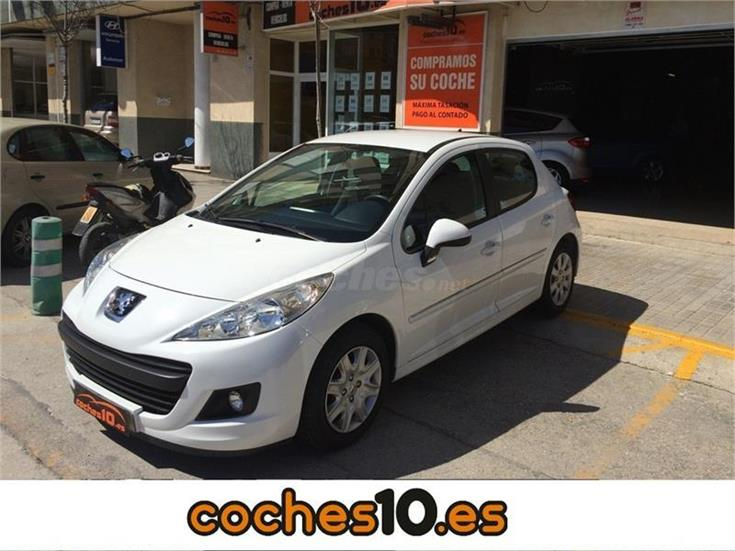 peugeot 207 active 1 4 hdi 70 fap diesel blanco del 2012 con 85000km en alicante 31728099. Black Bedroom Furniture Sets. Home Design Ideas