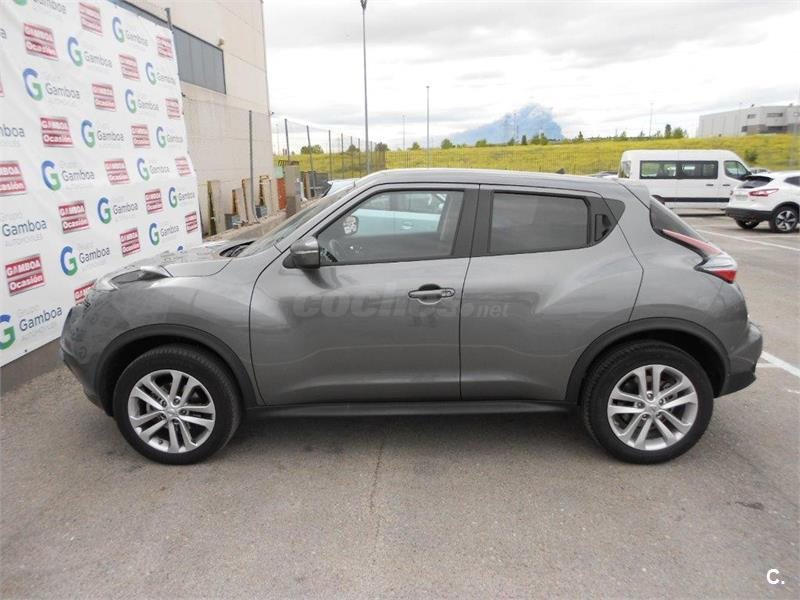 nissan juke 4x4 1 5 dci acenta 4x2 diesel de color gris plata del a o 2015 con 15994km en. Black Bedroom Furniture Sets. Home Design Ideas