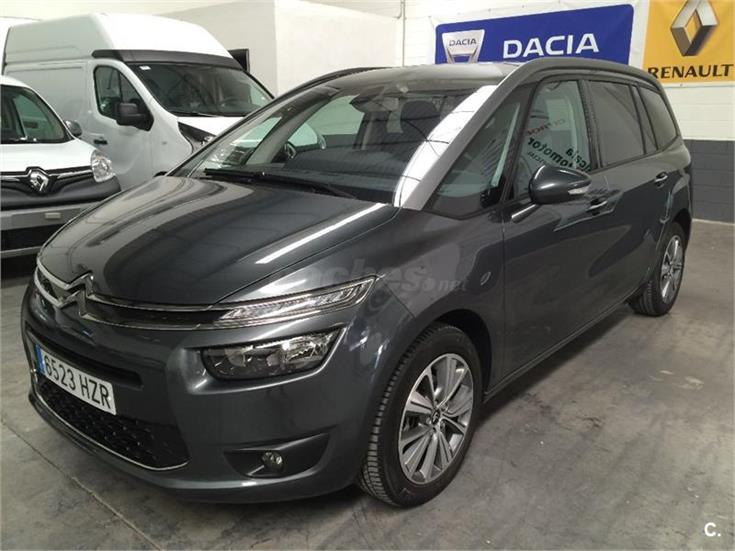citroen grand c4 picasso ehdi 115 airdream etg6 intensive diesel gris plata del 2014 con. Black Bedroom Furniture Sets. Home Design Ideas