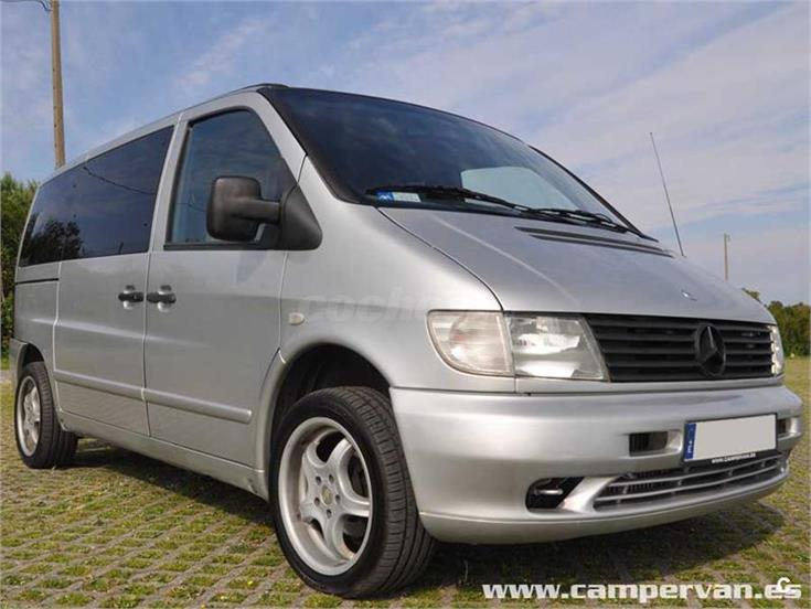 mercedes benz vito 112cdi f diesel gris plata del 2003 con 180000km en vizcaya 31758556. Black Bedroom Furniture Sets. Home Design Ideas