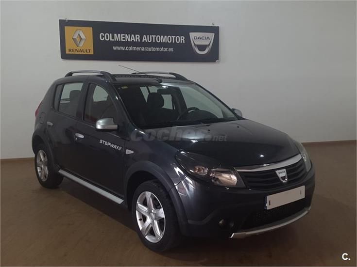 dacia sandero stepway dci 90cv e5 diesel gris plata ceniza del 2011 con 101000km en madrid. Black Bedroom Furniture Sets. Home Design Ideas
