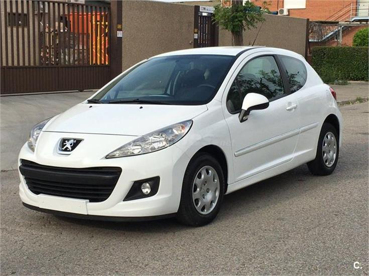 peugeot 207 active 1 4 hdi 70 fap diesel blanco del 2011. Black Bedroom Furniture Sets. Home Design Ideas