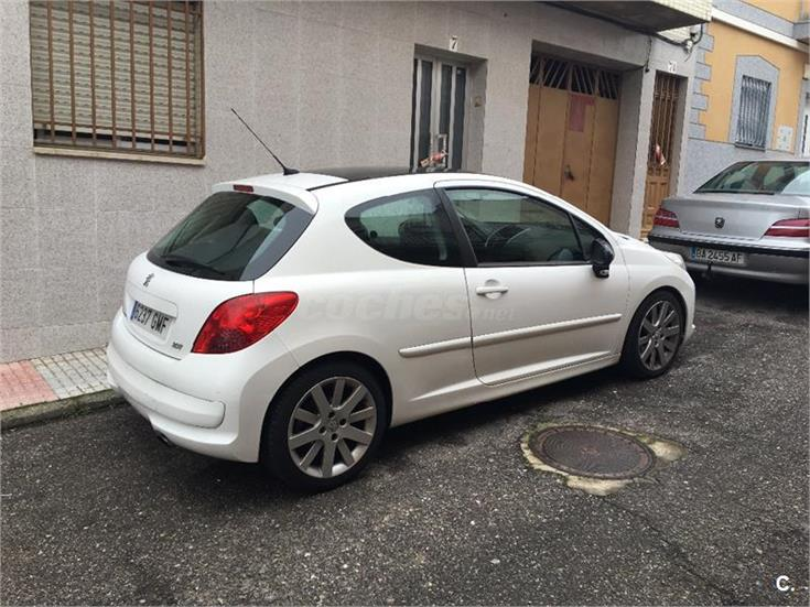 peugeot 207 gt 1 6 thp 150 gasolina blanco del 2009 con 179000km en badajoz 31776889. Black Bedroom Furniture Sets. Home Design Ideas