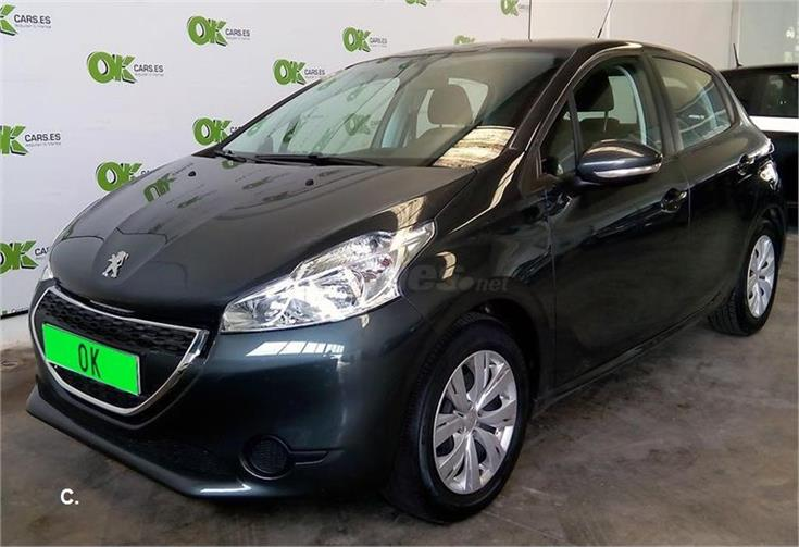 peugeot 208 5p active 1 4 hdi 68 diesel gris plata gris shark del 2013 con 36852km en. Black Bedroom Furniture Sets. Home Design Ideas