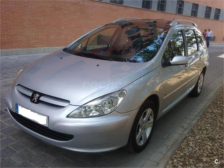 peugeot 307 sw pack 2 0 hdi 110 diesel gris plata del 2004 con 190000km en valencia 31804962. Black Bedroom Furniture Sets. Home Design Ideas