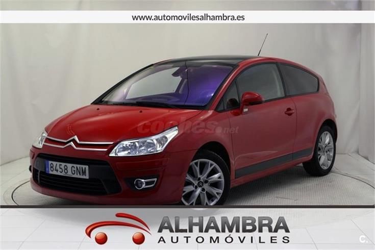 citroen c4 vti vtnv gasolina rojo del 2009 con 125613km en madrid 31814452. Black Bedroom Furniture Sets. Home Design Ideas