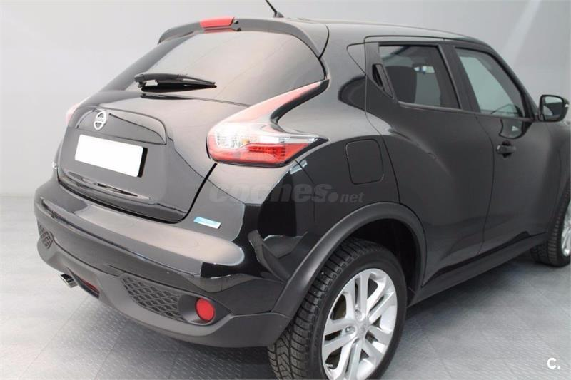 nissan juke 4x4 1 5 dci nconnecta 4x2 diesel de color negro del a o 2016 con 3000km en girona. Black Bedroom Furniture Sets. Home Design Ideas